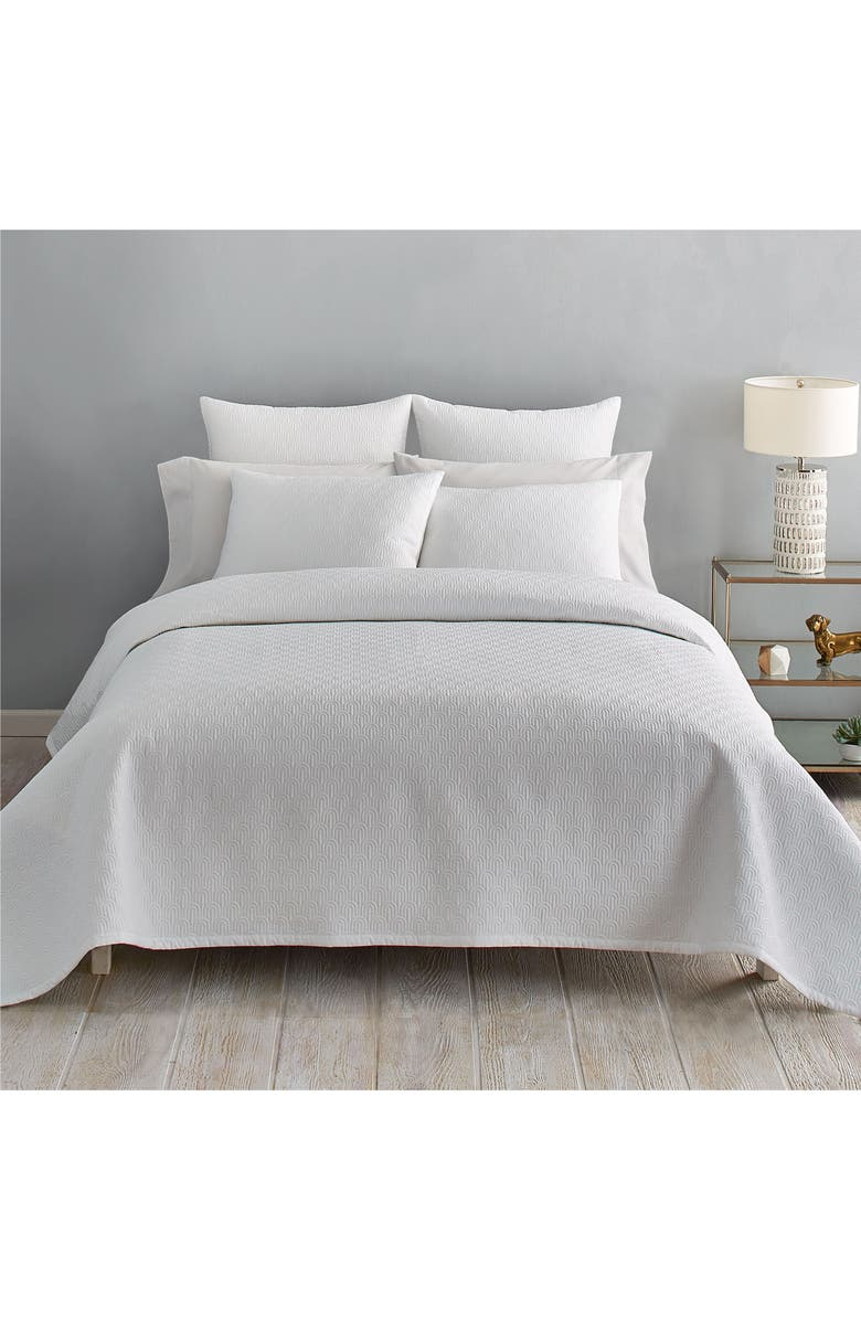 TED BAKER LONDON Quilted Coverlet, Main, color, 100