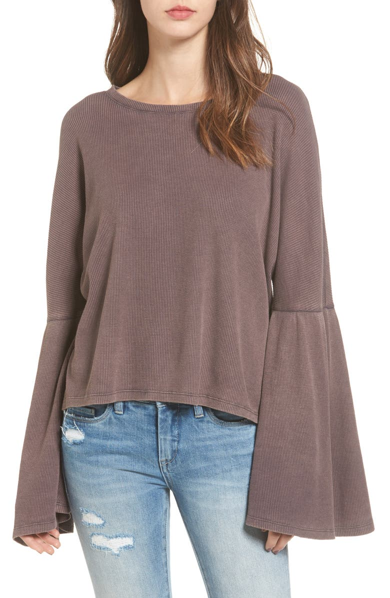 BP. Washed Bell Sleeve Tee, Main, color, 021