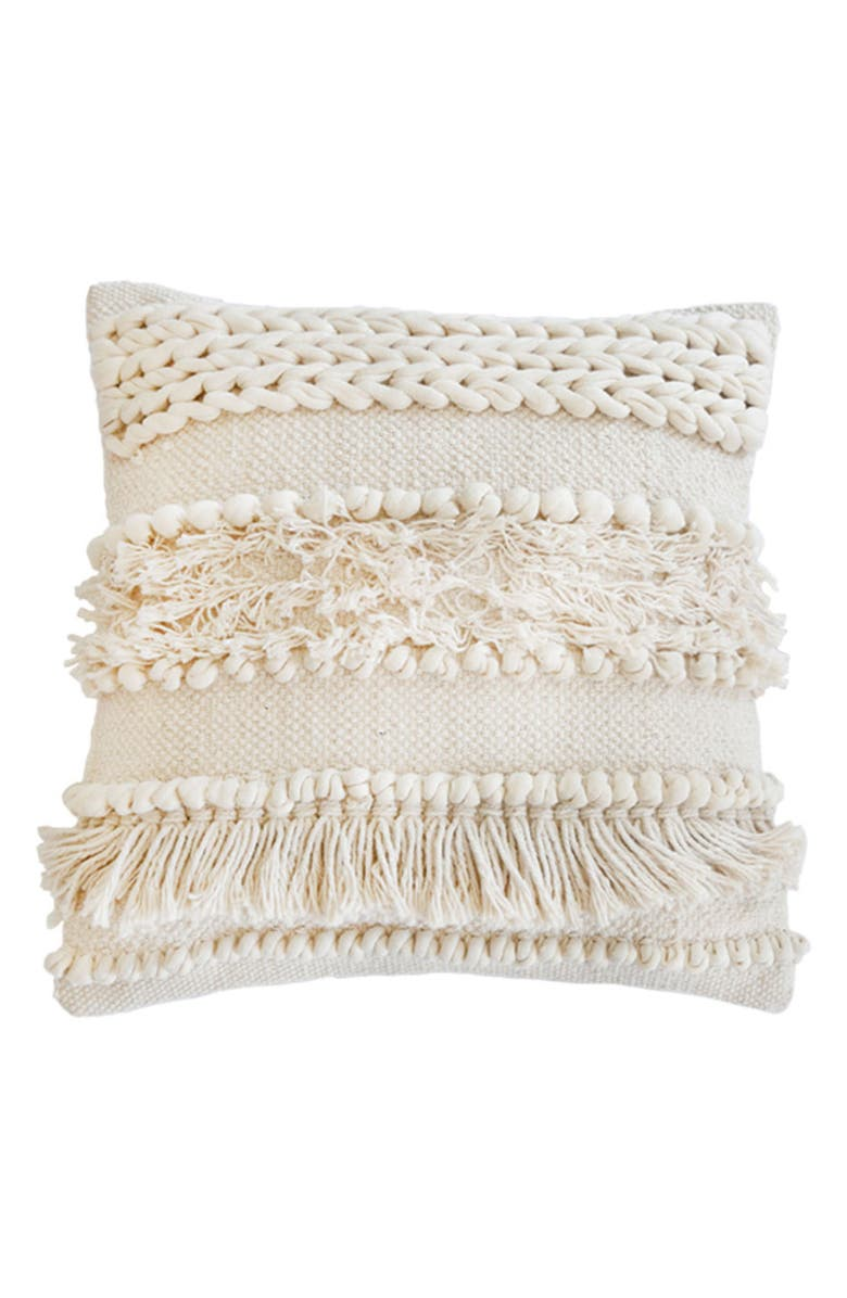 POM POM AT HOME Iman Accent Pillow, Main, color, 900