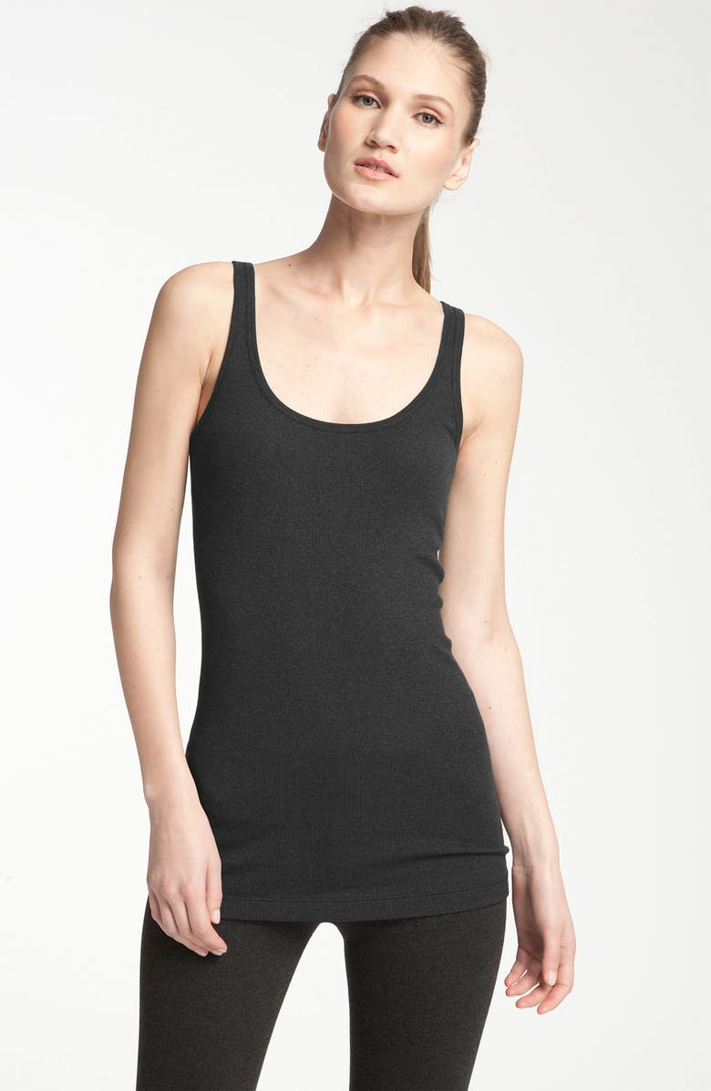 VINCE Heathered Tank, Main, color, 001