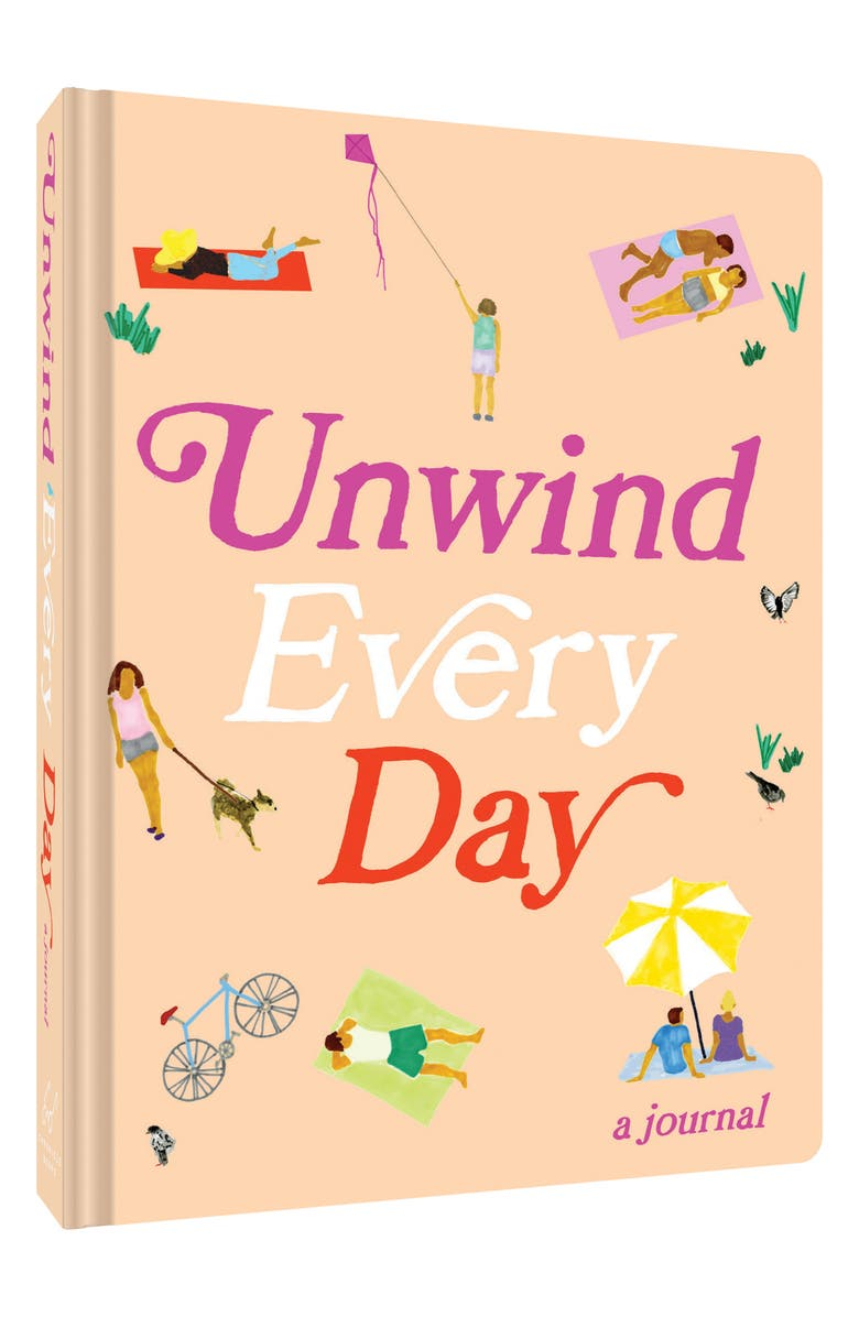 CHRONICLE BOOKS 'Unwind Every Day' Journal, Main, color, 650