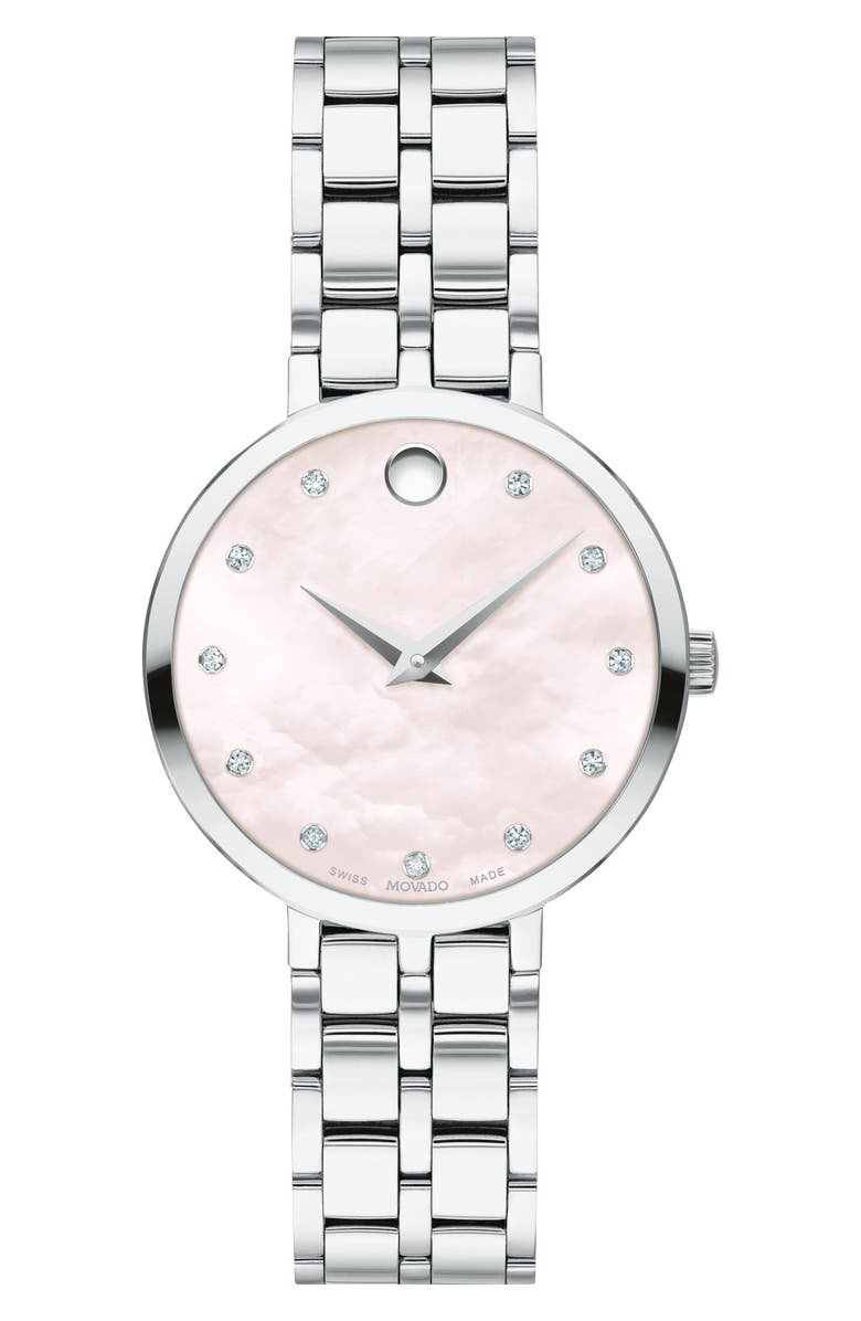 MOVADO Kora Bracelet Watch, 28mm, Main, color, 040