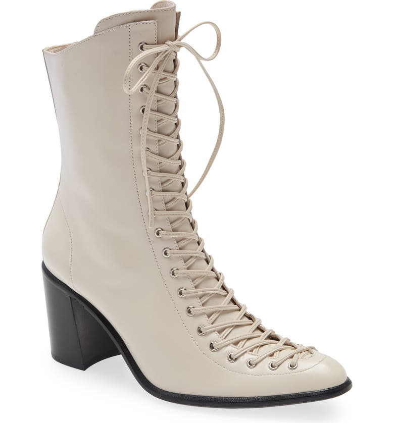 JEFFREY CAMPBELL Archille Lace-Up Boot, Main, color, 905