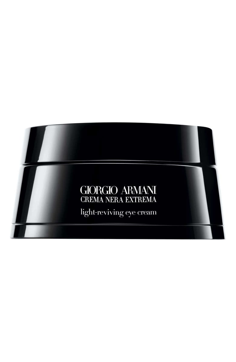 GIORGIO ARMANI Crema Nera Extrema Light-Reviving Eye Cream, Main, color, NO COLOR