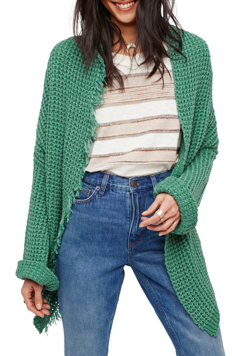 FREE PEOPLE I'll Be Around Cardigan, Main, color, 300