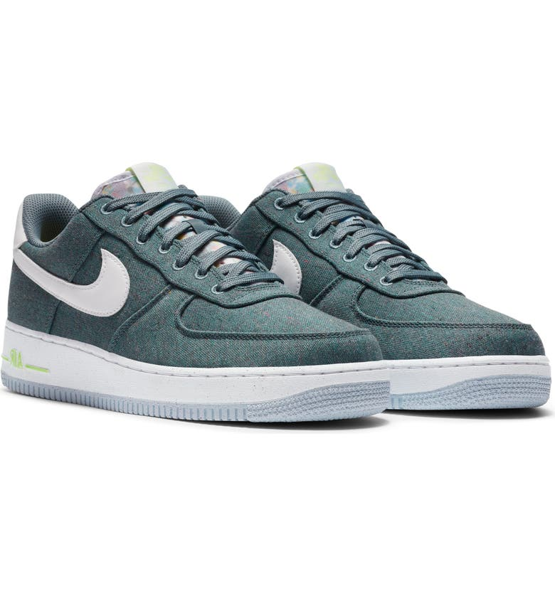 NIKE Air Force 1 '07 LX Sneaker, Main, color, BLUE/ WHITE