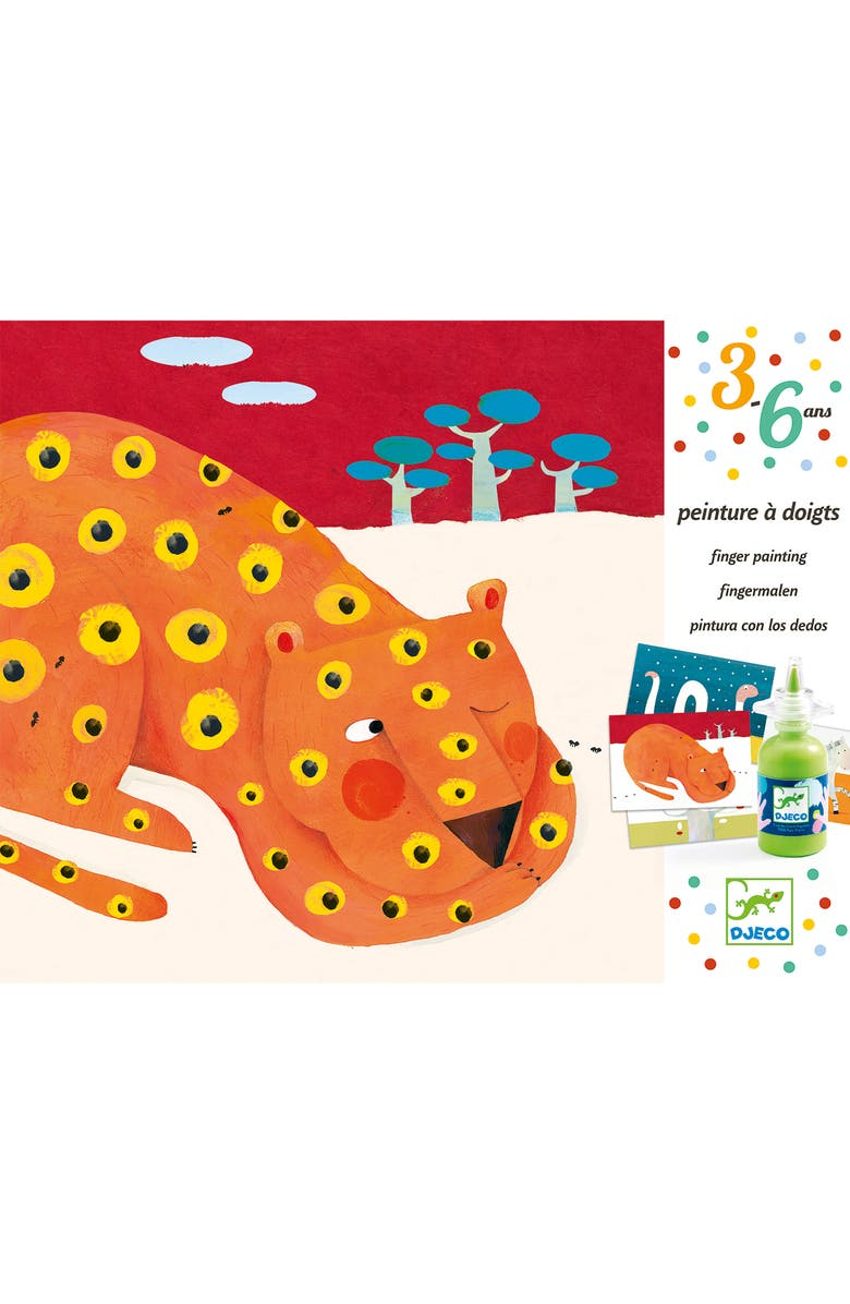 DJECO Finger Painting Kit, Main, color, 800