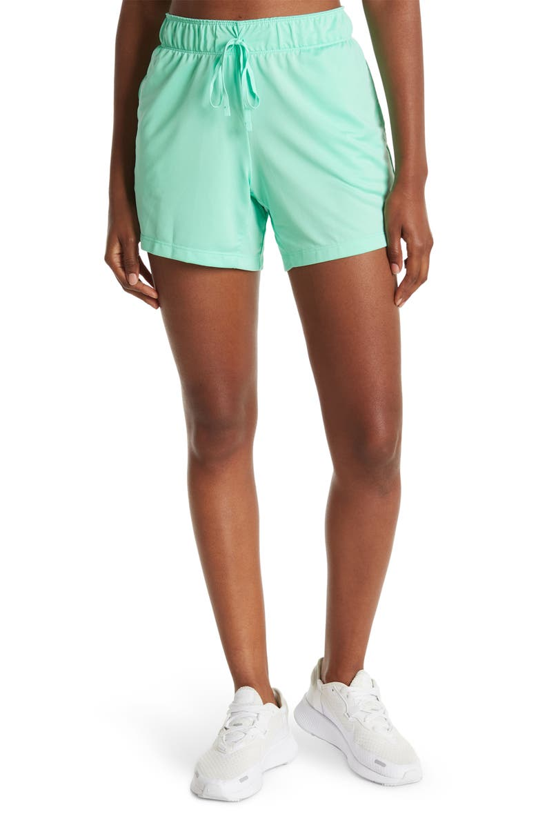 NIKE Attack Sport Shorts, Main, color, GREEN GLOW/WHITE