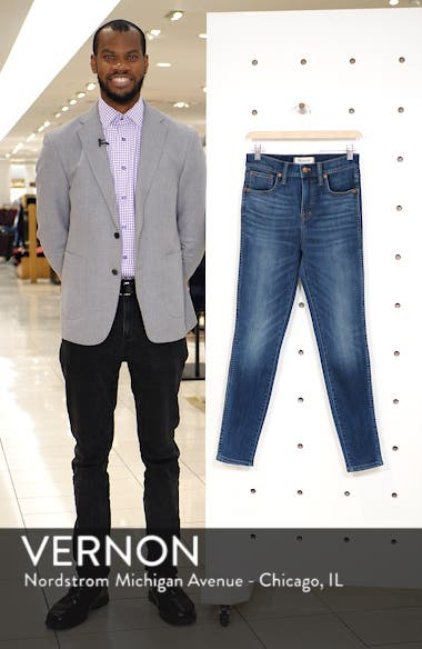 10-Inch High Rise Skinny Jeans, sales video thumbnail