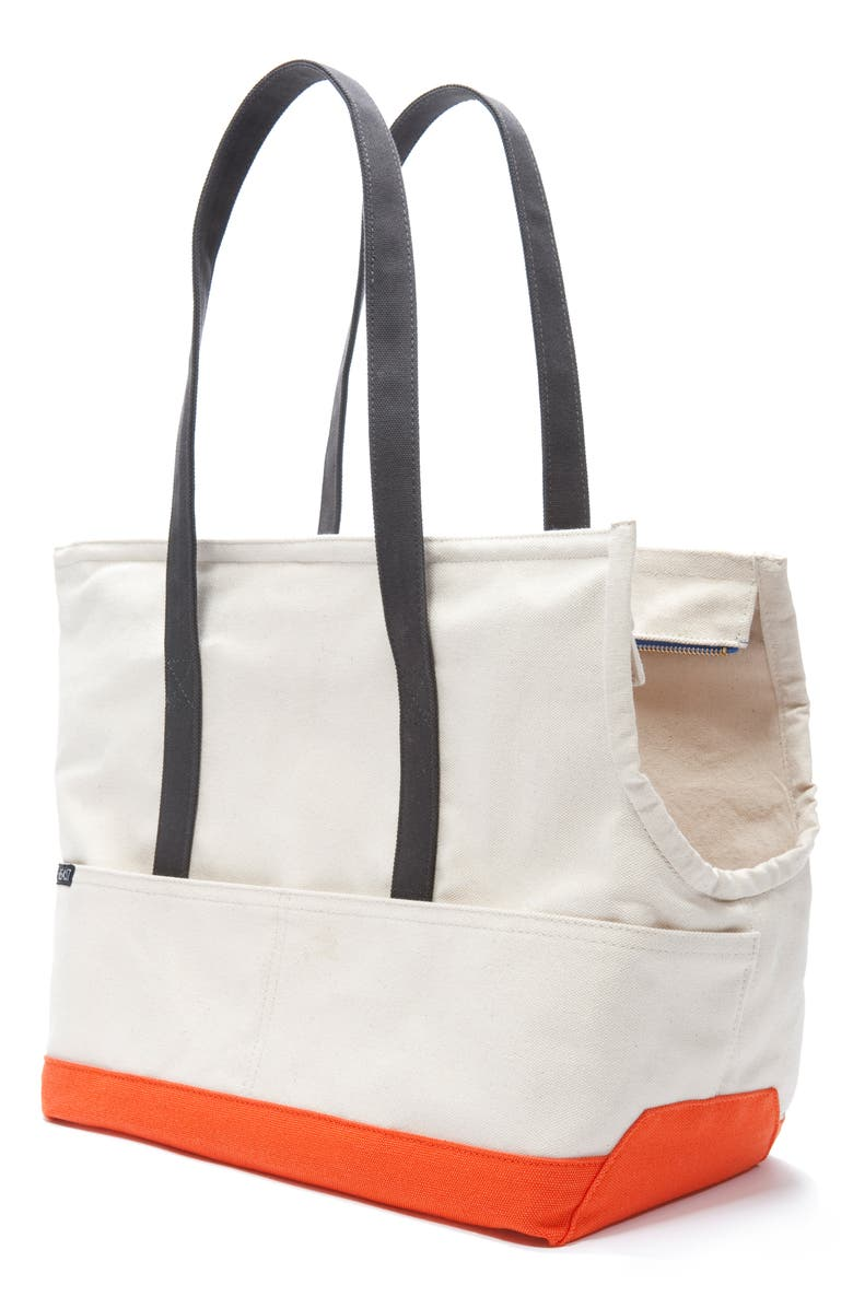 LOVETHYBEAST x Peanuts<sup>®</sup> Waxed Canvas Pet Tote, Main, color, 250