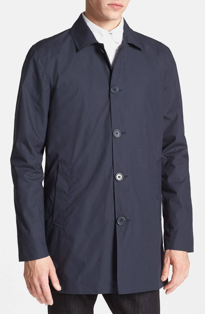 TOPMAN Mac Coat, Main, color, 410