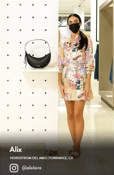 smile small leather shoulder bag, sales video thumbnail