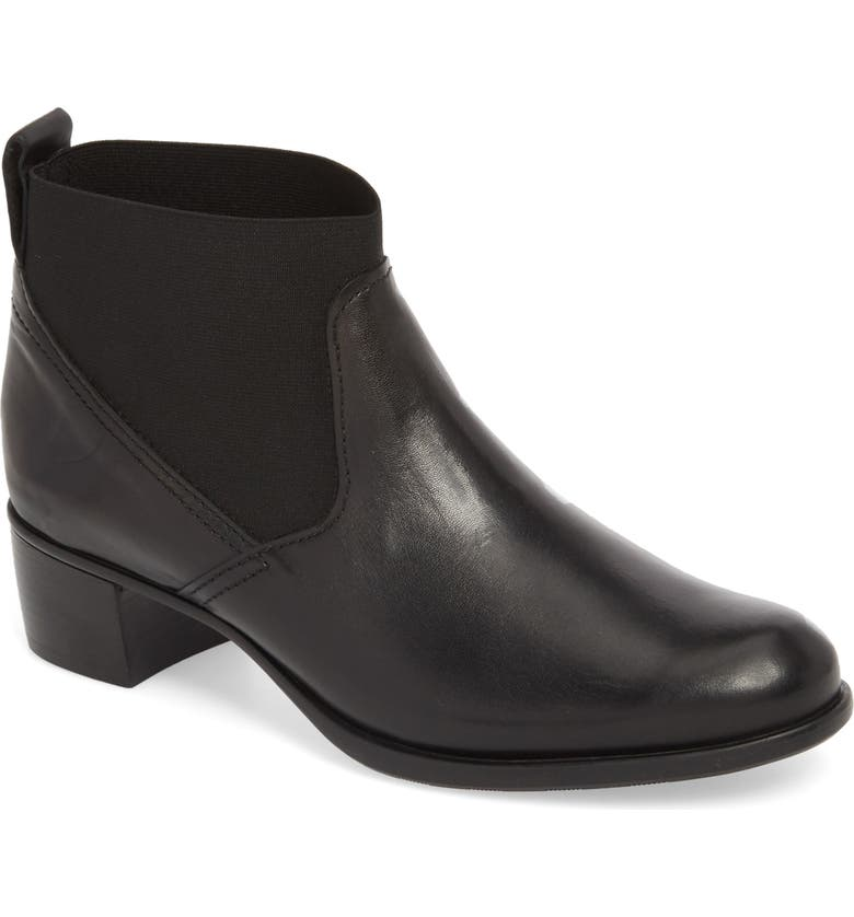 MUNRO Ana Bootie, Main, color, BLACK LEATHER
