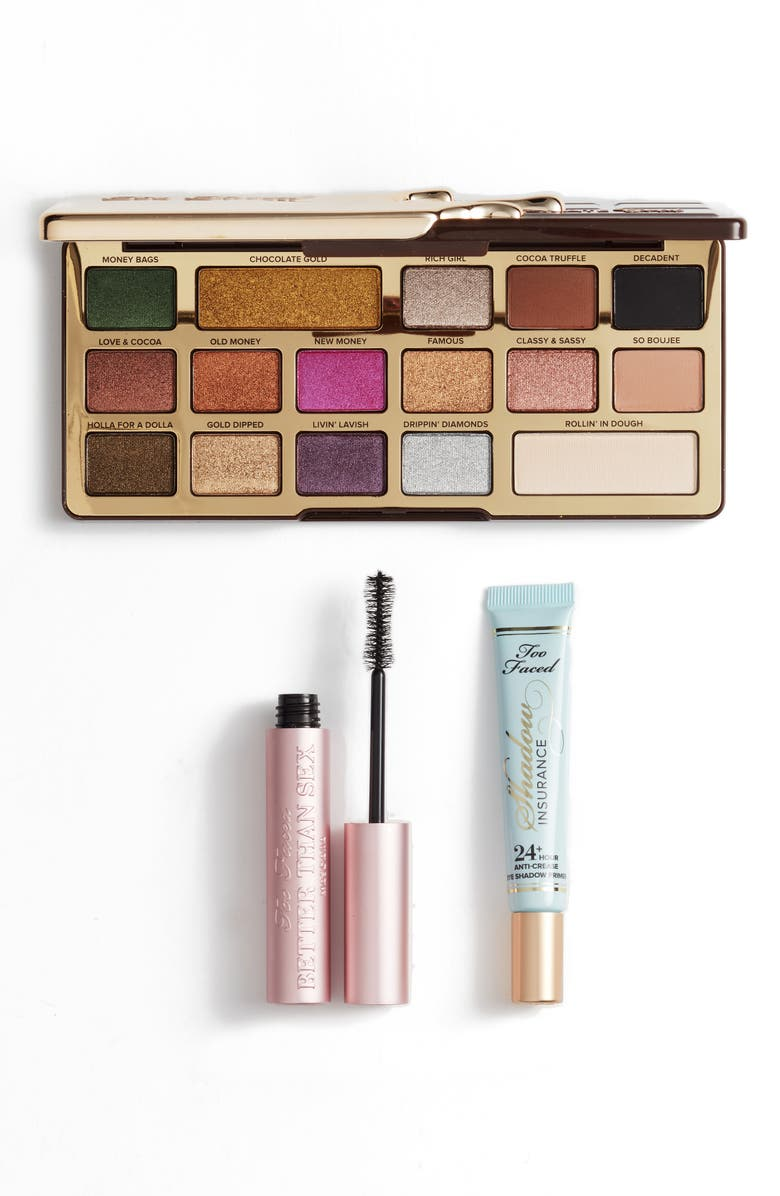 TOO FACED Sex, Gold and Chocolate Set, Main, color, 000
