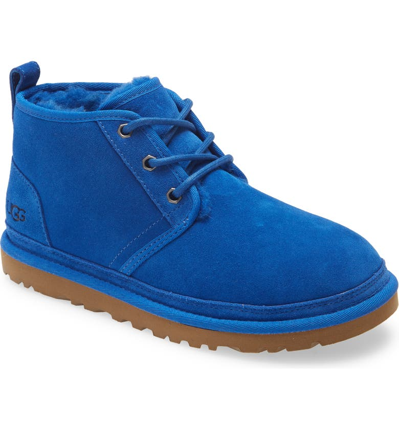 UGG<SUP>®</SUP> Neumel Boot, Main, color, CLASSIC BLUE SUEDE