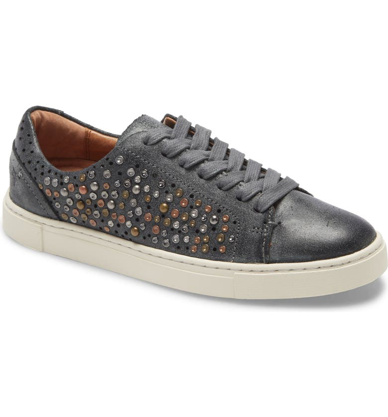 FRYE Ivy Deco Stud Sneaker, Main, color, 001
