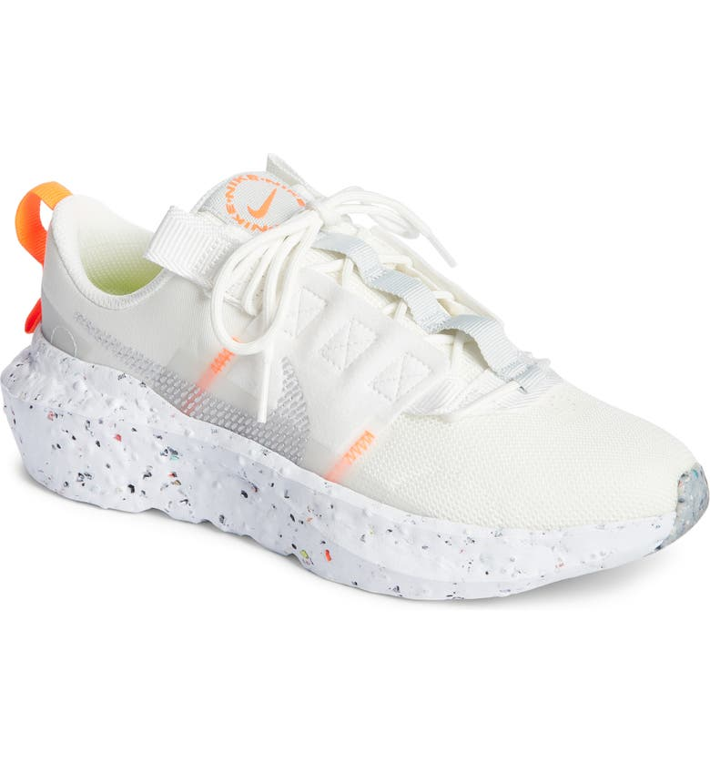 NIKE Crater Impact Sneaker, Main, color, SUMMIT WHITE/GREY FOG