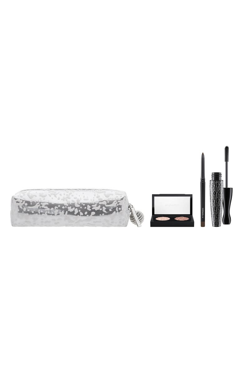 MAC COSMETICS MAC Snow Ball Smoky Gold Eye Bag, Main, color, 000