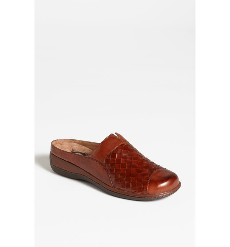SOFTWALK<SUP>®</SUP> 'San Marcos' Clog, Main, color, RUST BURNISHED