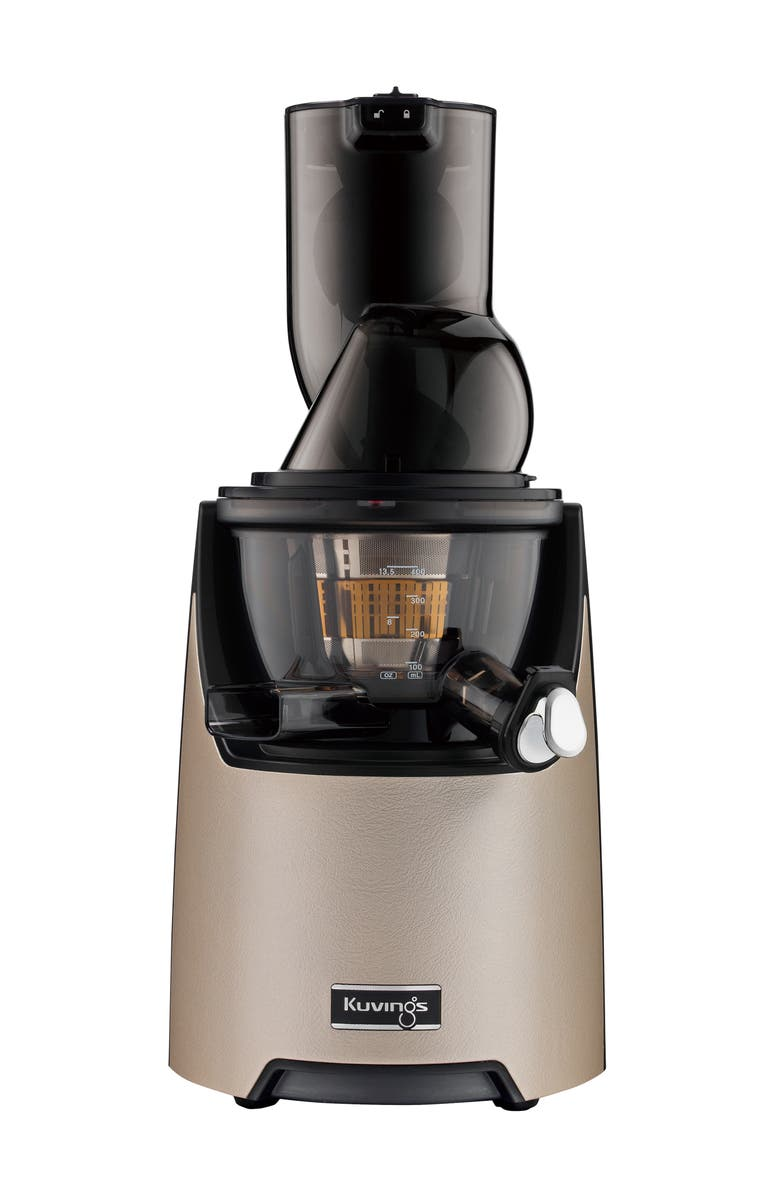 KUVINGS Whole Slow Juicer EVO820 Series, Main, color, CHAMPAGNE GOLD