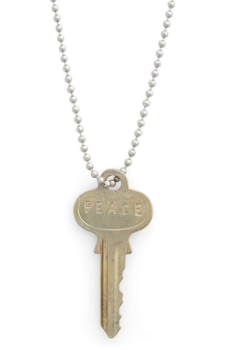 THE GIVING KEYS 'Classic' 27-Inch Key Pendant Necklace, Main, color, 040