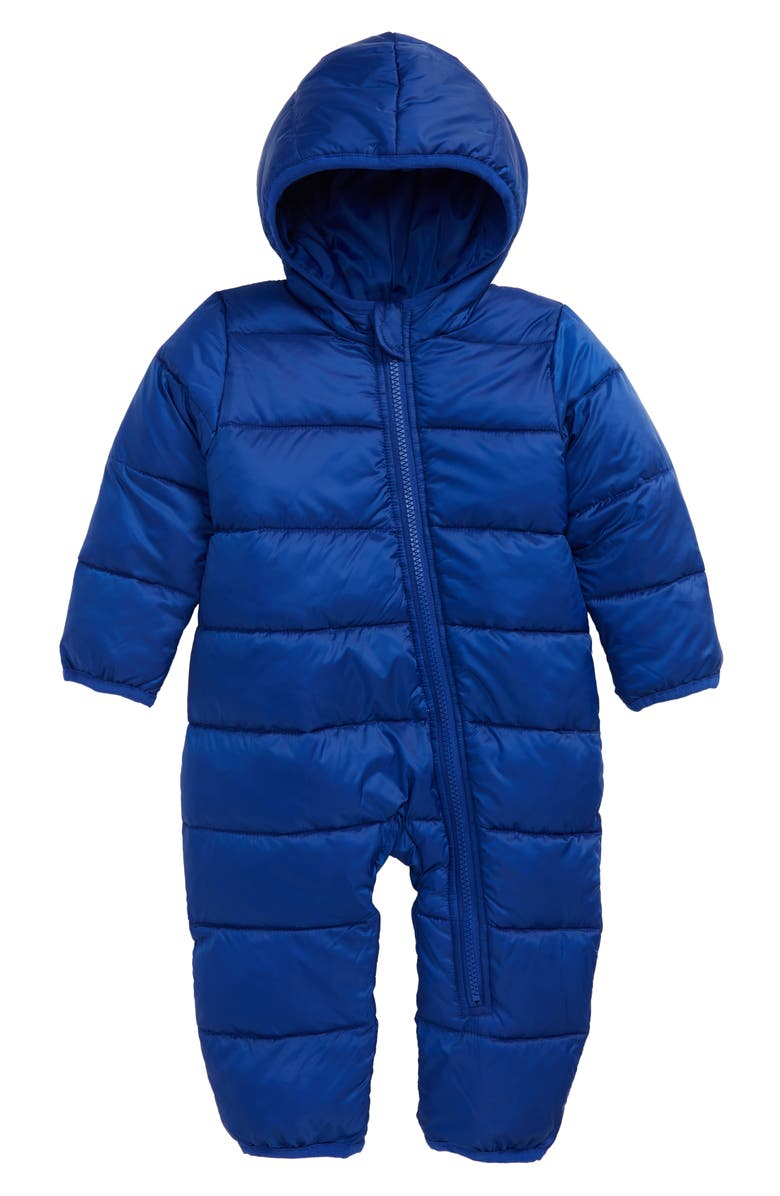 NORDSTROM Hooded Puffer Snow Suit, Main, color, 420