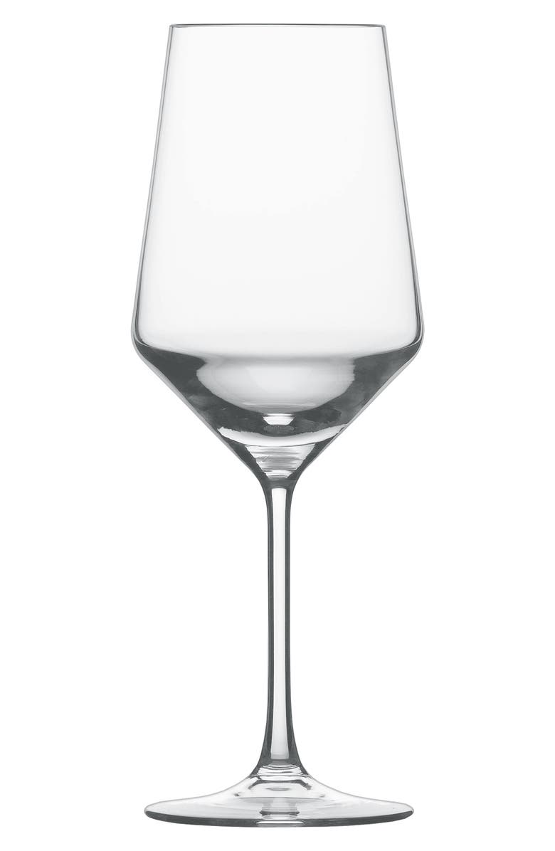SCHOTT ZWIESEL Pure Set of 6 Cabernet Wine Glasses, Main, color, CLEAR