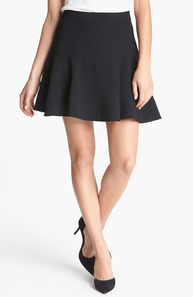 ROBBI & NIKKI Fit & Flare Skirt, Main, color, 001