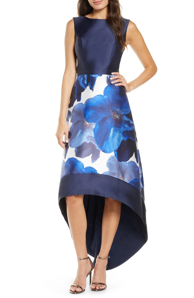 CHI CHI LONDON Bray High/Low Gown, Main, color, 413