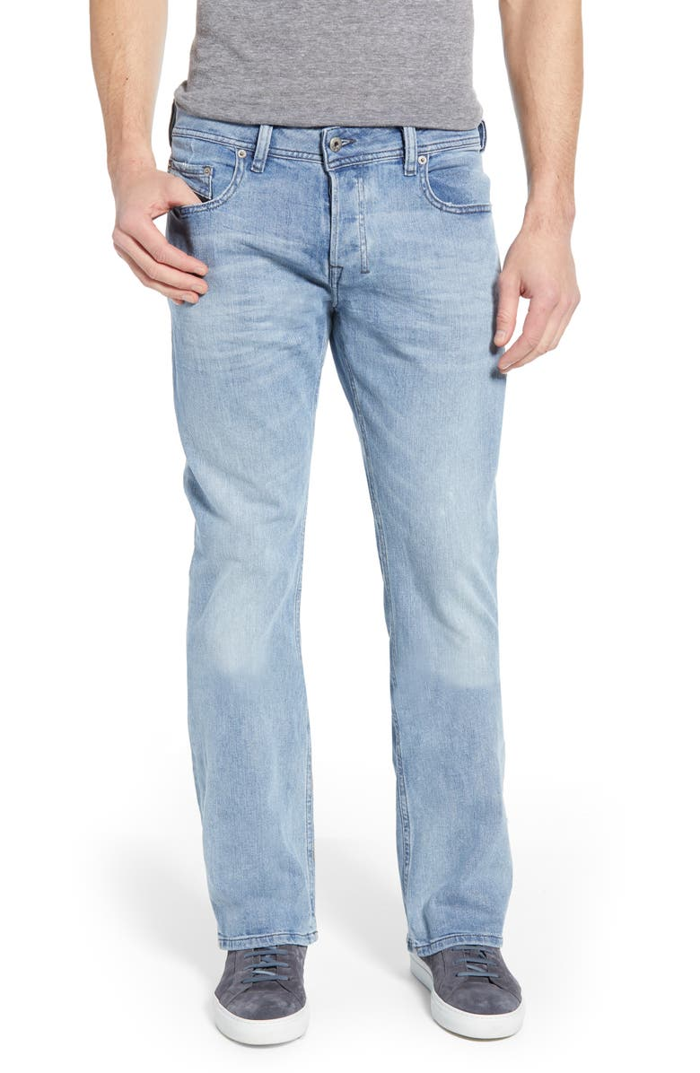 DIESEL<SUP>®</SUP> Zatiny Bootcut Jeans, Main, color, 900
