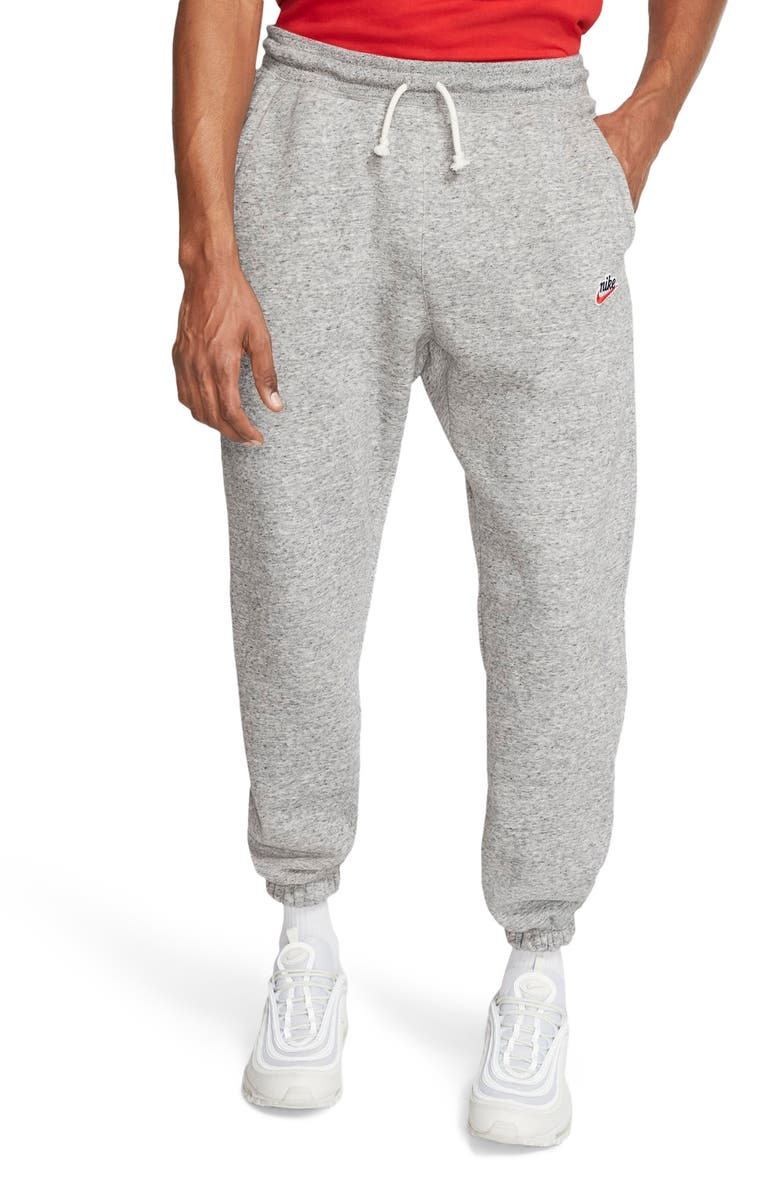 NIKE Sportswear Heritage Jogger Sweatpants, Main, color, ANTHRACITE