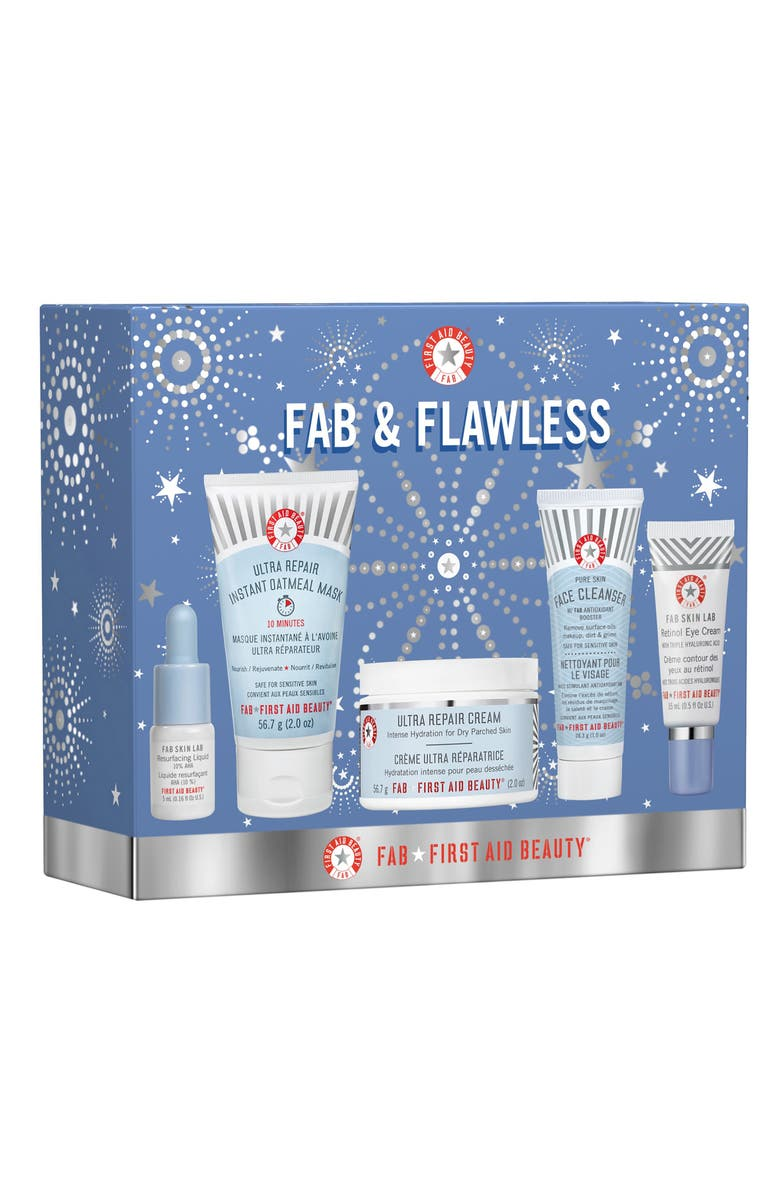 FIRST AID BEAUTY FAB & Flawless Kit, Main, color, 000