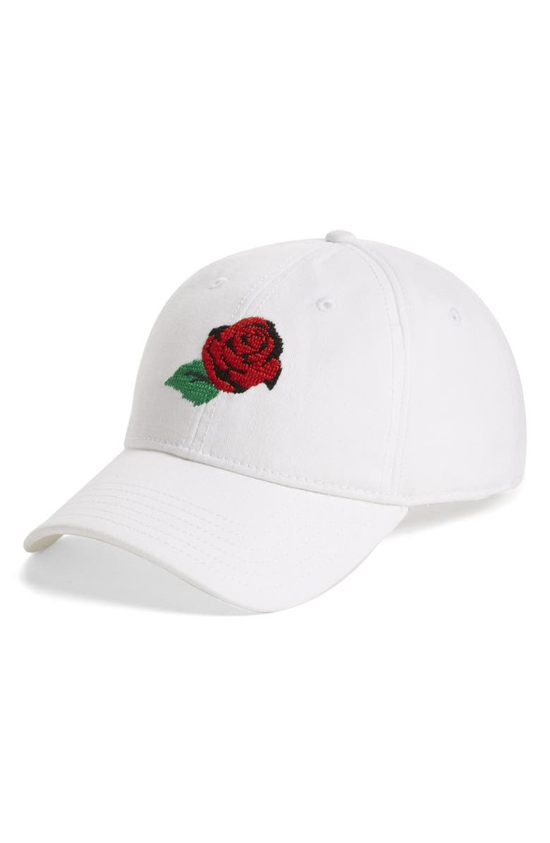 OPENING CEREMONY 'Rose' Cap, Main, color, White