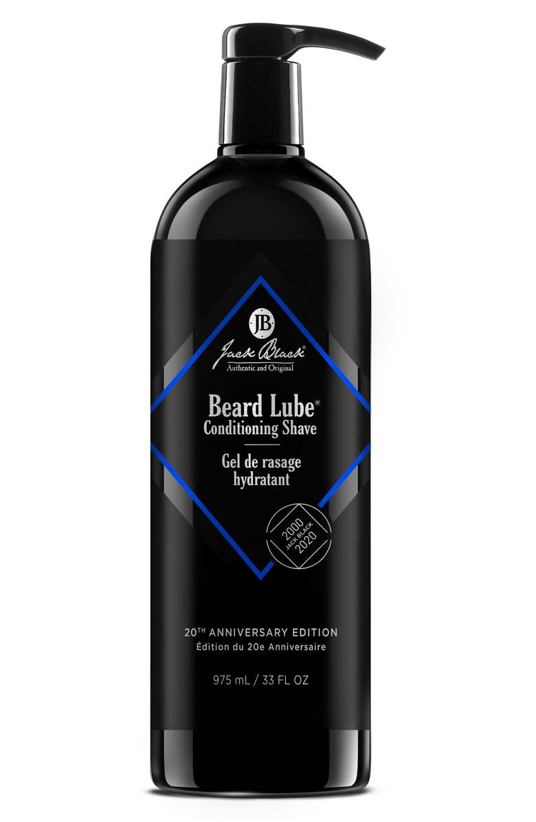 JACK BLACK Jumbo Size Beard Lube Conditioning Shave, Main, color, NO COLOR