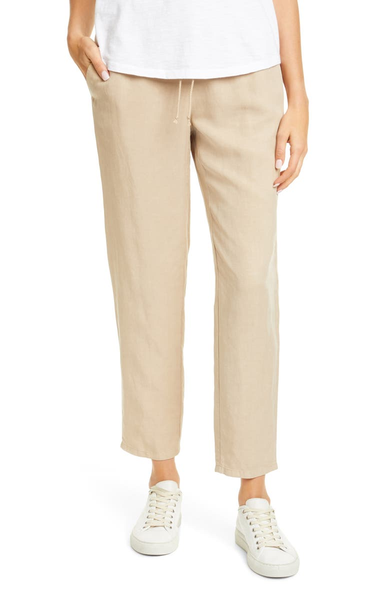 EILEEN FISHER Tapered Ankle Pants, Main, color, 250