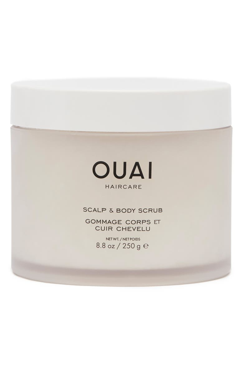 OUAI Scalp & Body Scrub, Main, color, NO COLOR