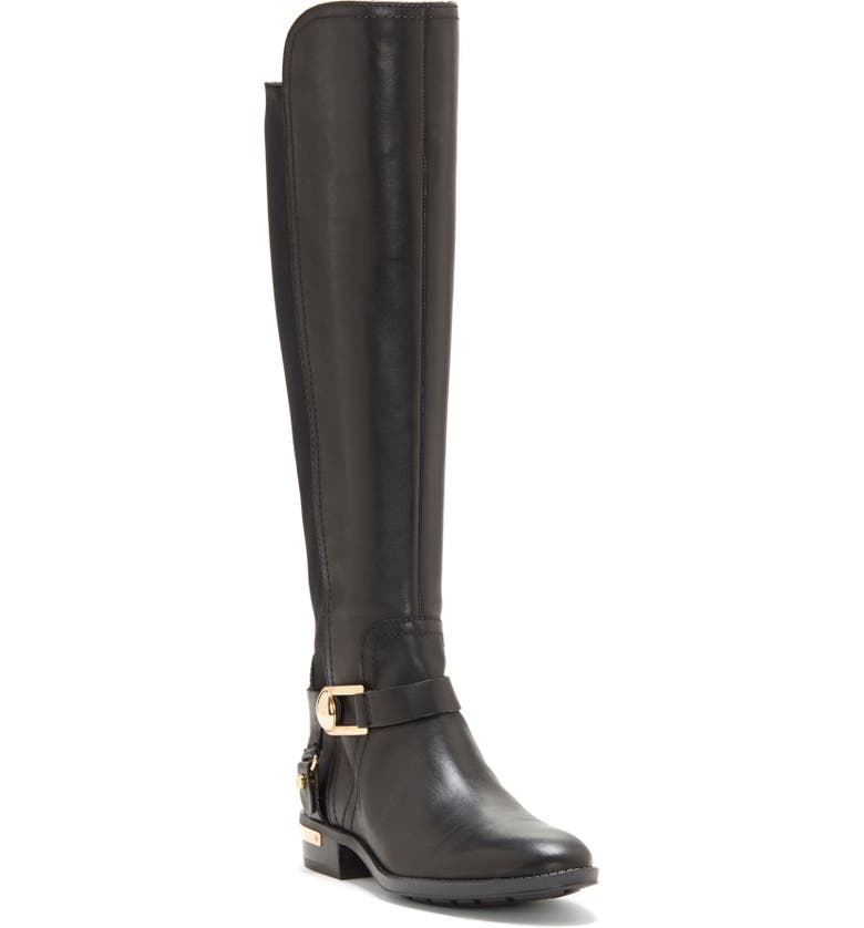 VINCE CAMUTO Pearley Knee High Riding Boot, Main, color, 001