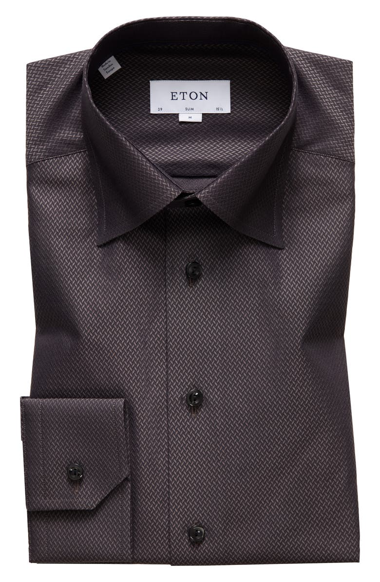 ETON Slim Fit Dress Shirt, Main, color, 200