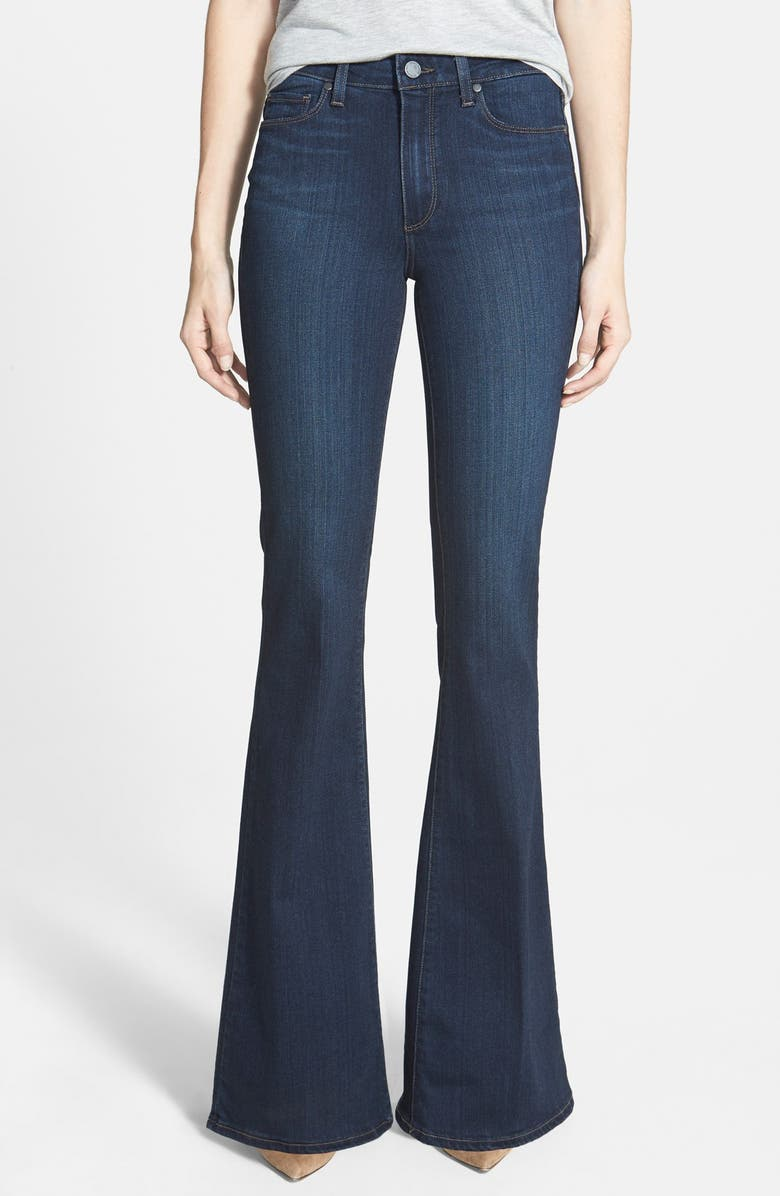 PAIGE Denim 'Transcend - Bell Canyon' High Rise Flare Jeans, Main, color, CAMERON