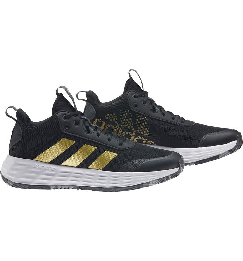ADIDAS Own The Game 2.0 Sneaker, Main, color, CBLACK/GOL