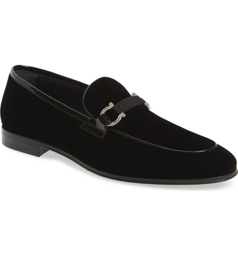 SALVATORE FERRAGAMO Seral Bit Loafer, Main, color, 001