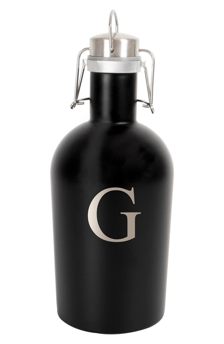 CATHY'S CONCEPTS Monogram Stainless Steel Growler, Main, color, 008