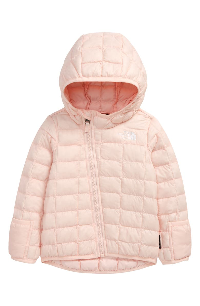 THE NORTH FACE ThermoBall<sup>™</sup> Eco Hooded Jacket, Main, color, PINK SALT