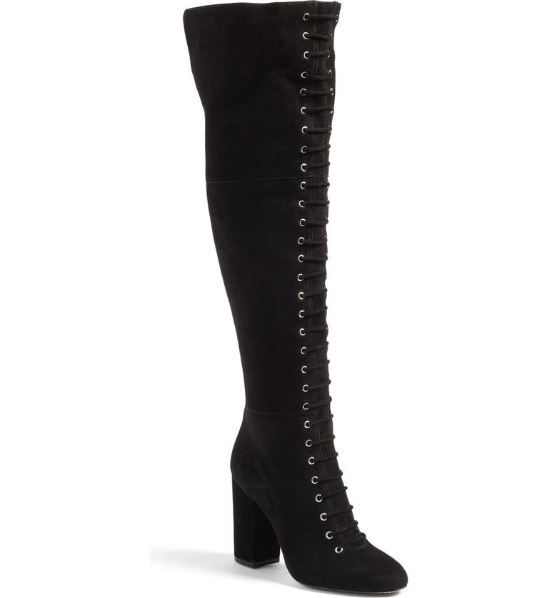 VINCE CAMUTO 'Felana' Over the Knee Boot, Main, color, 001