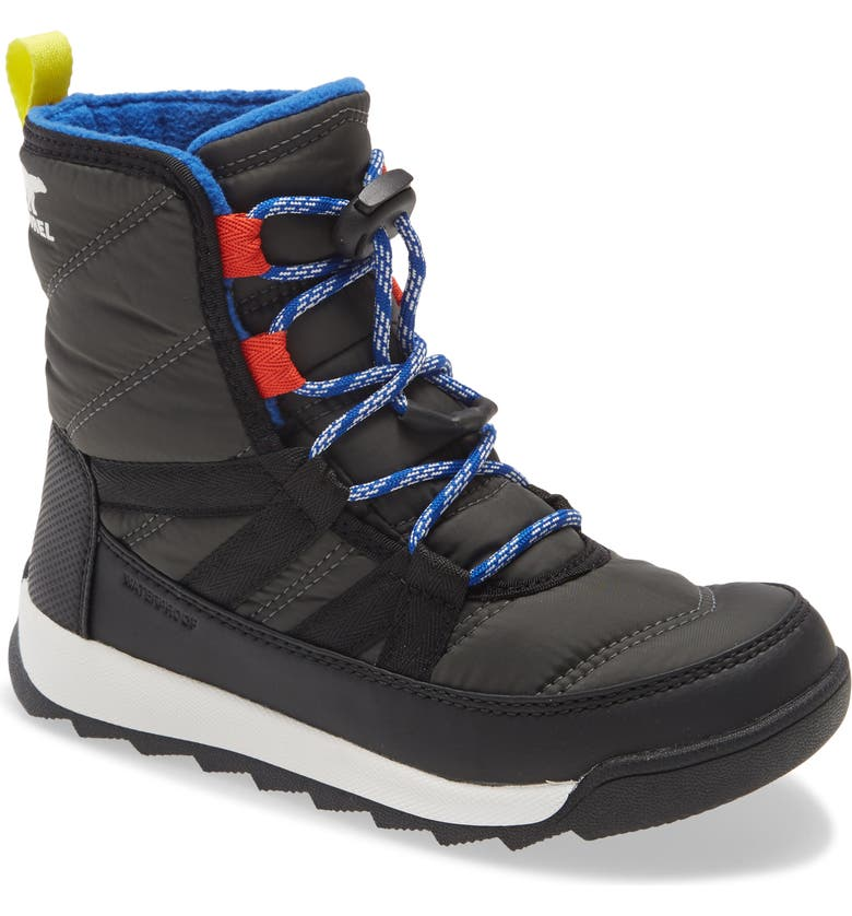 SOREL Whitney<sup>™</sup> II Short Waterproof Insulated Boot, Main, color, COAL