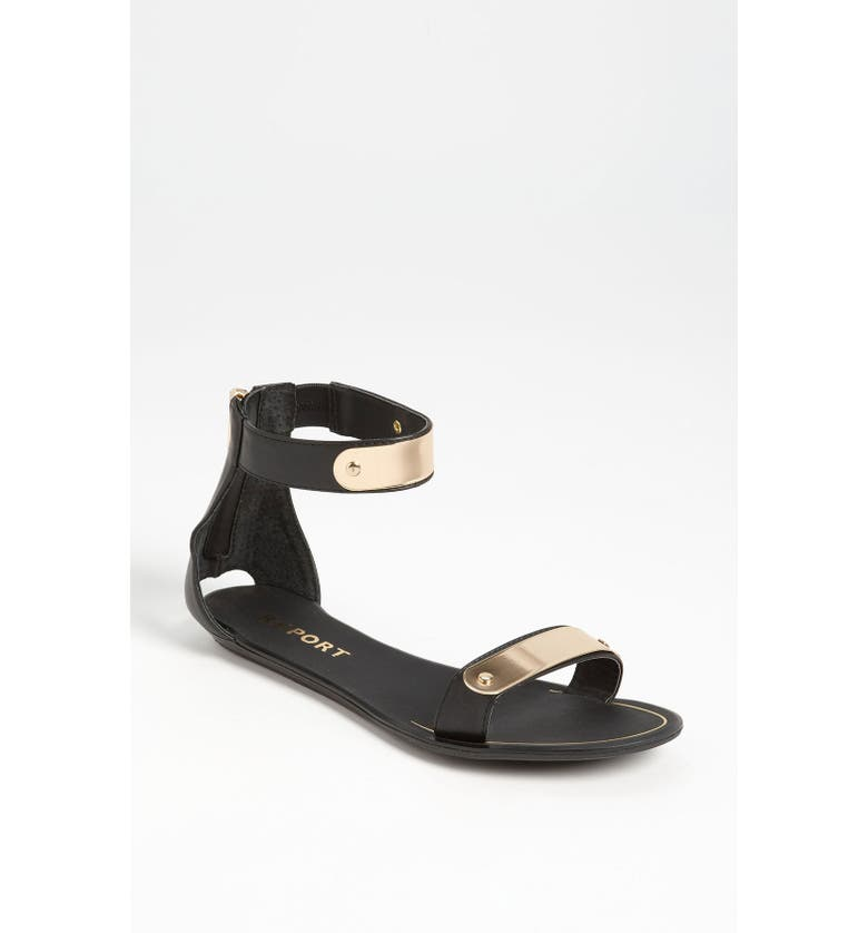 REPORT SIGNATURE REPORT Metal Bar Sandal, Main, color, 001