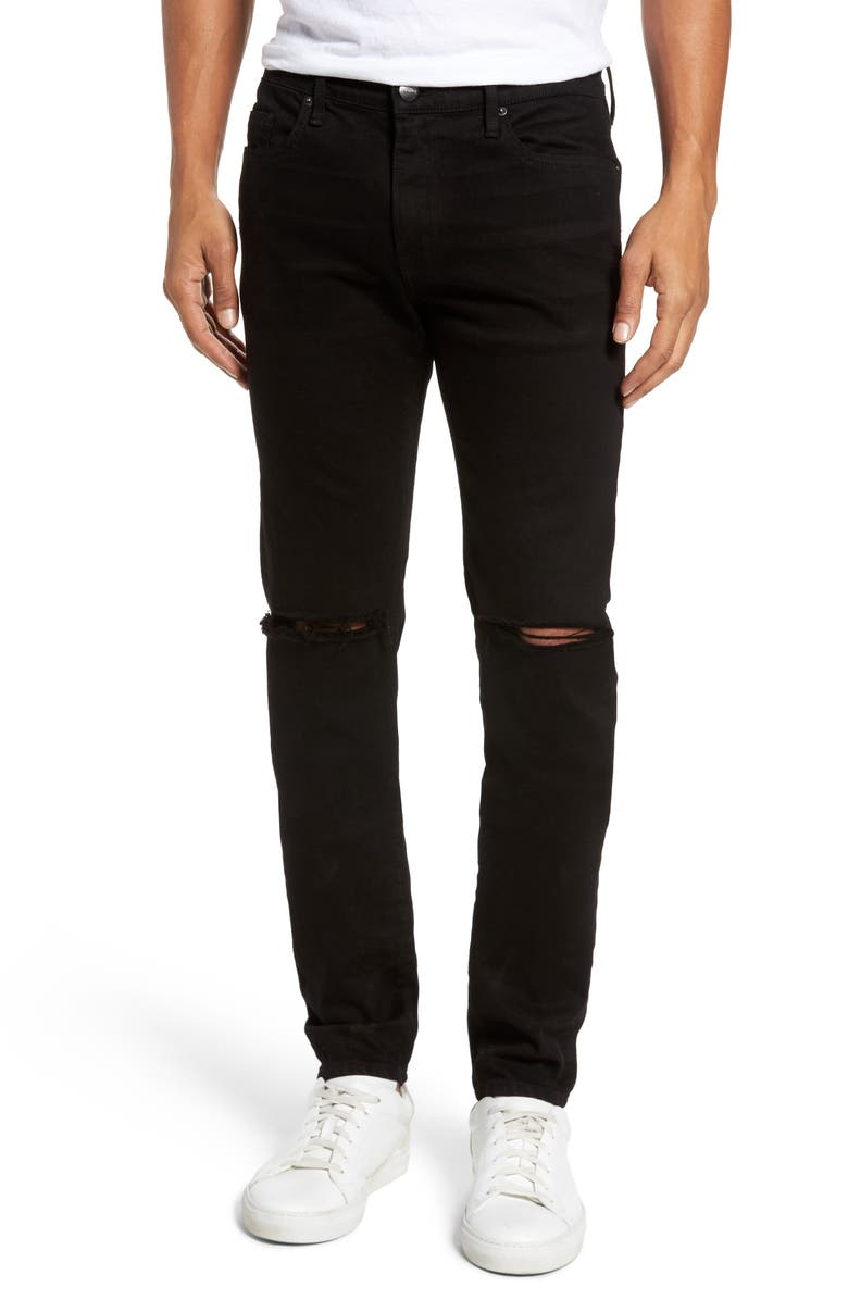 FRAME L'Homme Slim Fit Jeans, Main, color, 004