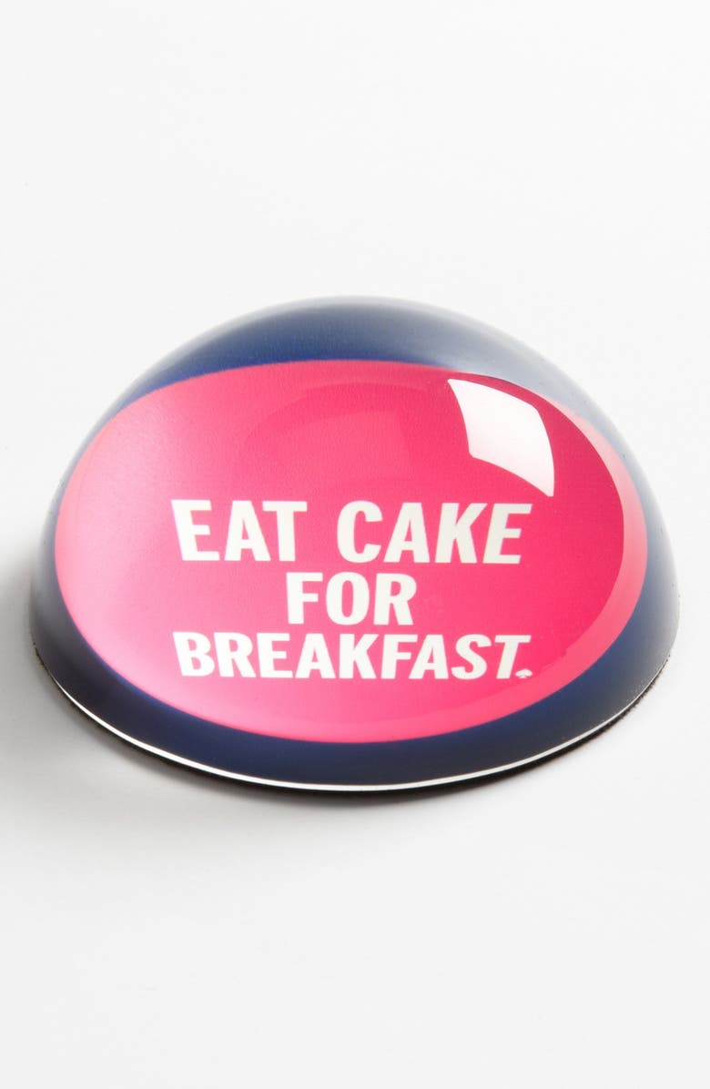 KATE SPADE NEW YORK 'things we love<sup>™</sup> - eat cake for breakfast' paperweight, Main, color, 000