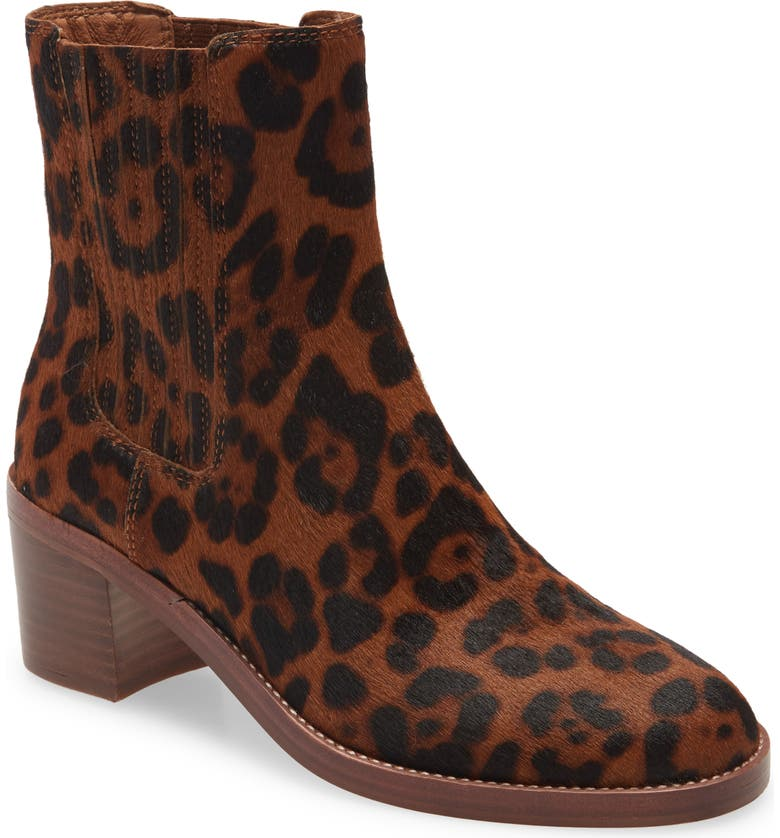 MADEWELL Autumn High Chelsea Boot, Main, color, MAPLE SYRUP MULTI