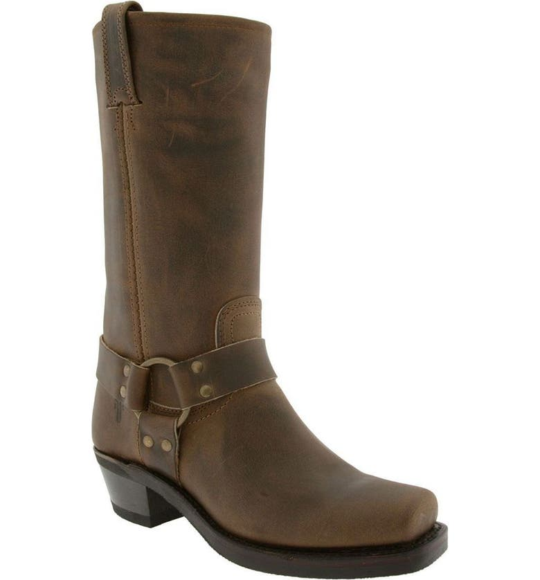 FRYE 'Harness 12R' Leather Boot, Main, color, TAN